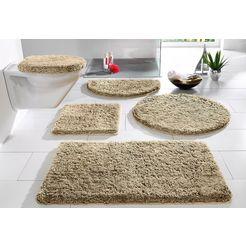 badmat »sanremo«, my home, hoogte 30 mm, met antislip-coating, geschikt voor vloerverwarming bruin