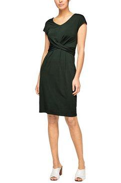 s.oliver black label jerseyjurk groen