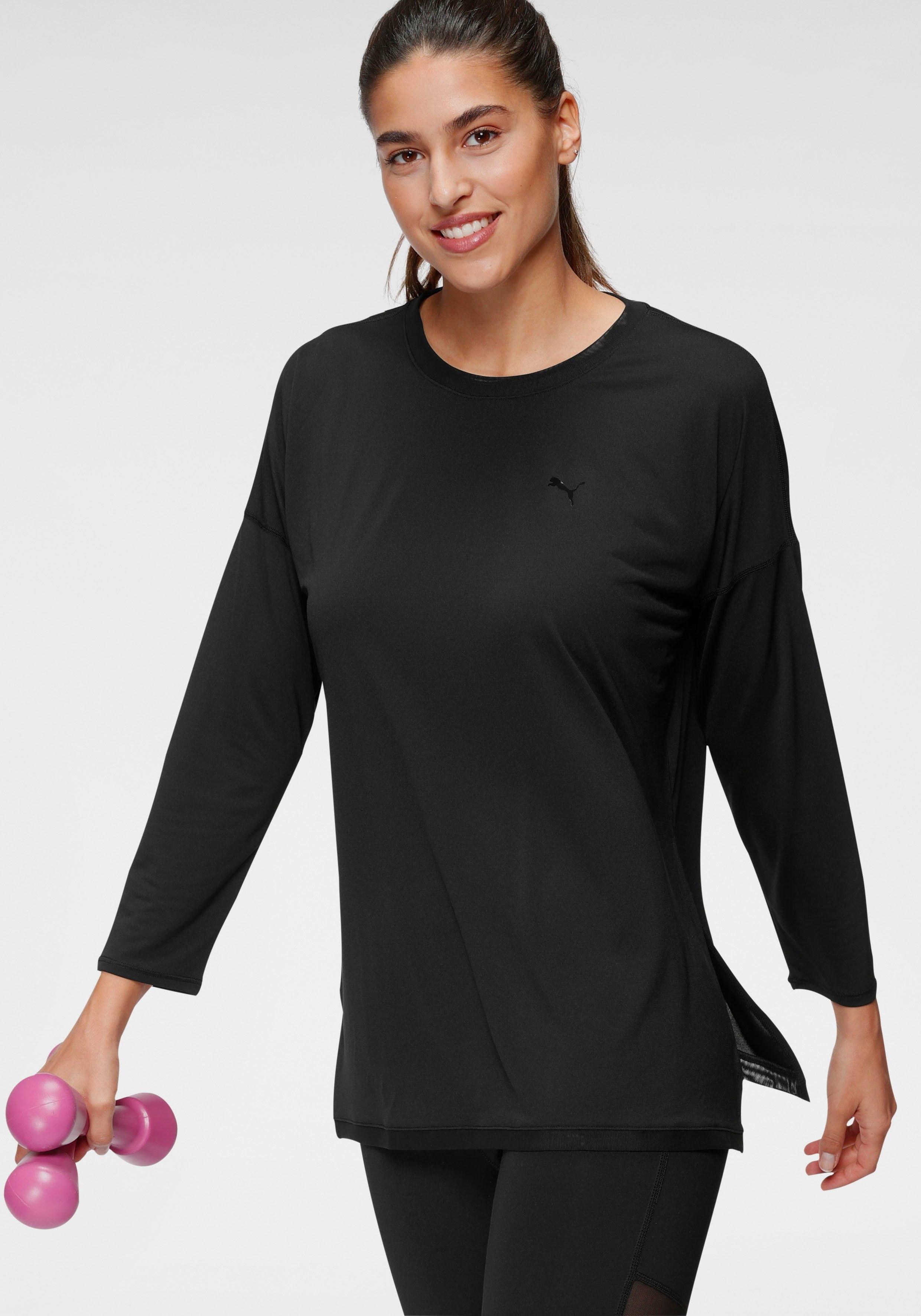 PUMA shirt met lange mouwen STUDIO GRAPHENE LONG SLEEVE TOP in de webshop van OTTO kopen