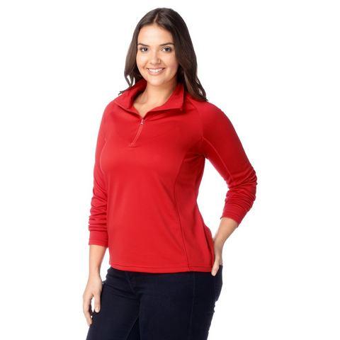 MAIER SPORTS Fleece-shirt van 100% polyester