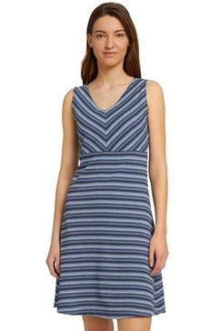 tom tailor midi-jurk gemaakt van biologisch katoen