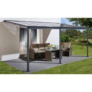 konifera terrasdak bxd: 495x300 cm grijs