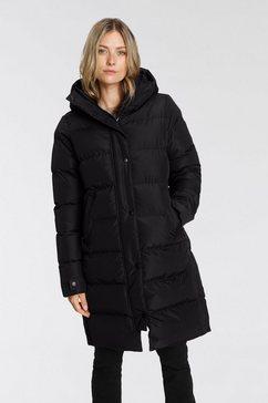 brunotti doorgestikte jas gadwell zwart