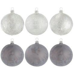 leger home by lena gercke kerstbal »lesslie« zilver