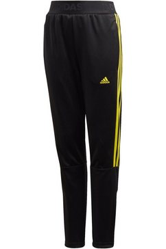 adidas performance trainingsbroek »boys tiro pant 3 stripes« zwart
