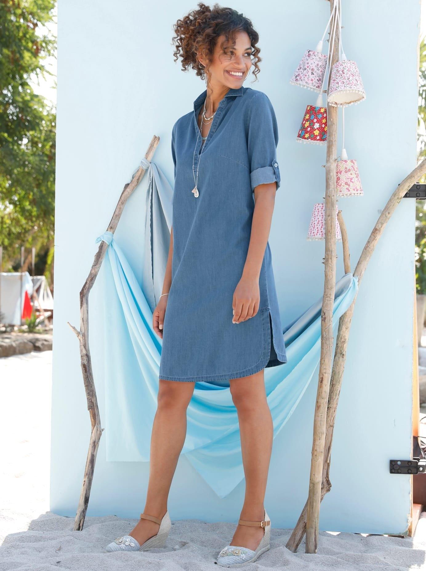 Casual Looks jeansjurk Jeans jurk voordelig en veilig online kopen