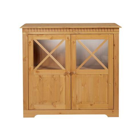 Kasten  vitrinekasten HOME AFFAIRE Kast met 2 deuren en 1 plank 676818