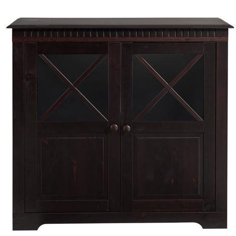 Kasten  vitrinekasten HOME AFFAIRE Kast met 2 deuren en 1 plank 676920