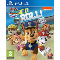 ps4 game paw patrol: on a roll