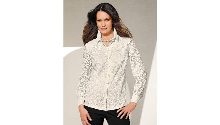 Lady kanten blouse