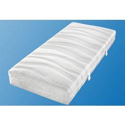 malie extra matrastijk doppeltuch in verschillende hoogten wit