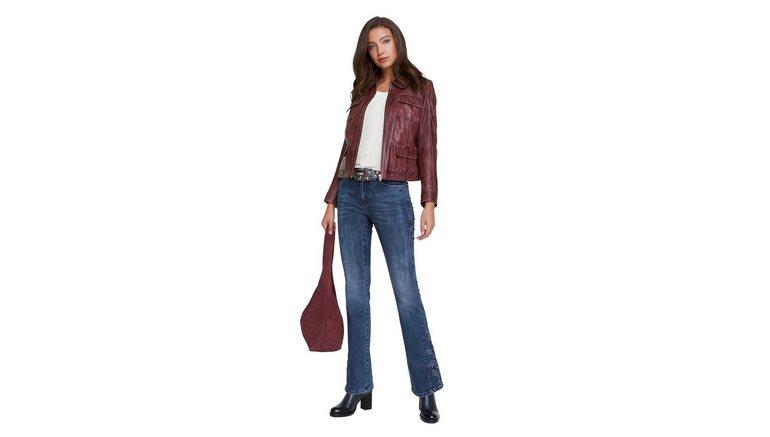 LINEA TESINI by Heine bootcut jeans