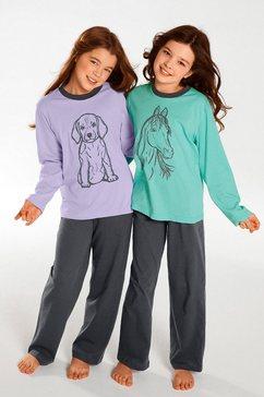 pyjama in set van 2 multicolor