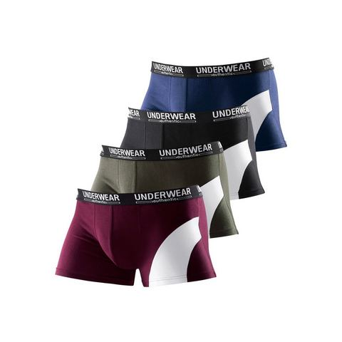 Boxershort, Authentic Nightwear Le Jogger, set van 4