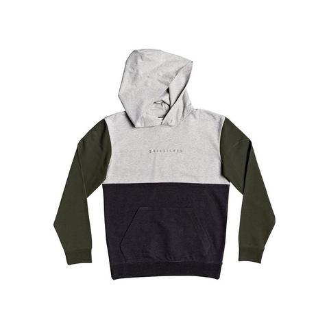 NU 20% KORTING: Quiksilver hoodie Under Shelter