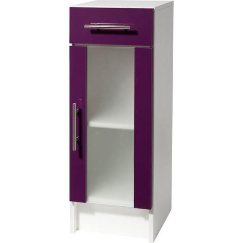 SCHILDMEYER Onderkast Catania met 1 deur paarse badkamer onderkast 161