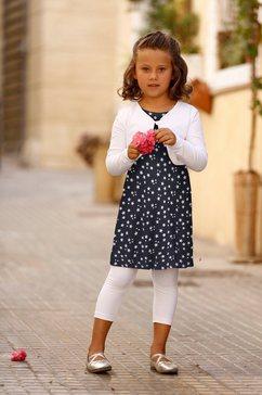 kidsworld bolero, jurk  legging blauw