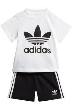 adidas originals t-shirt  short (set) zwart