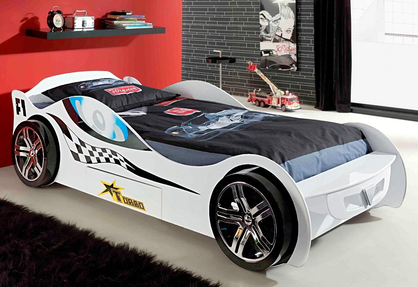 Raceauto-bed, Vipack