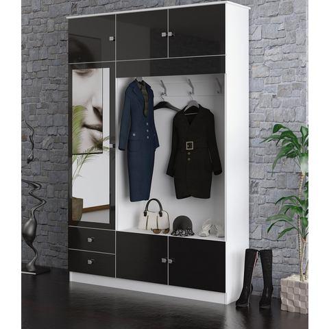 Garderobemeubel Kompakta met spiegel