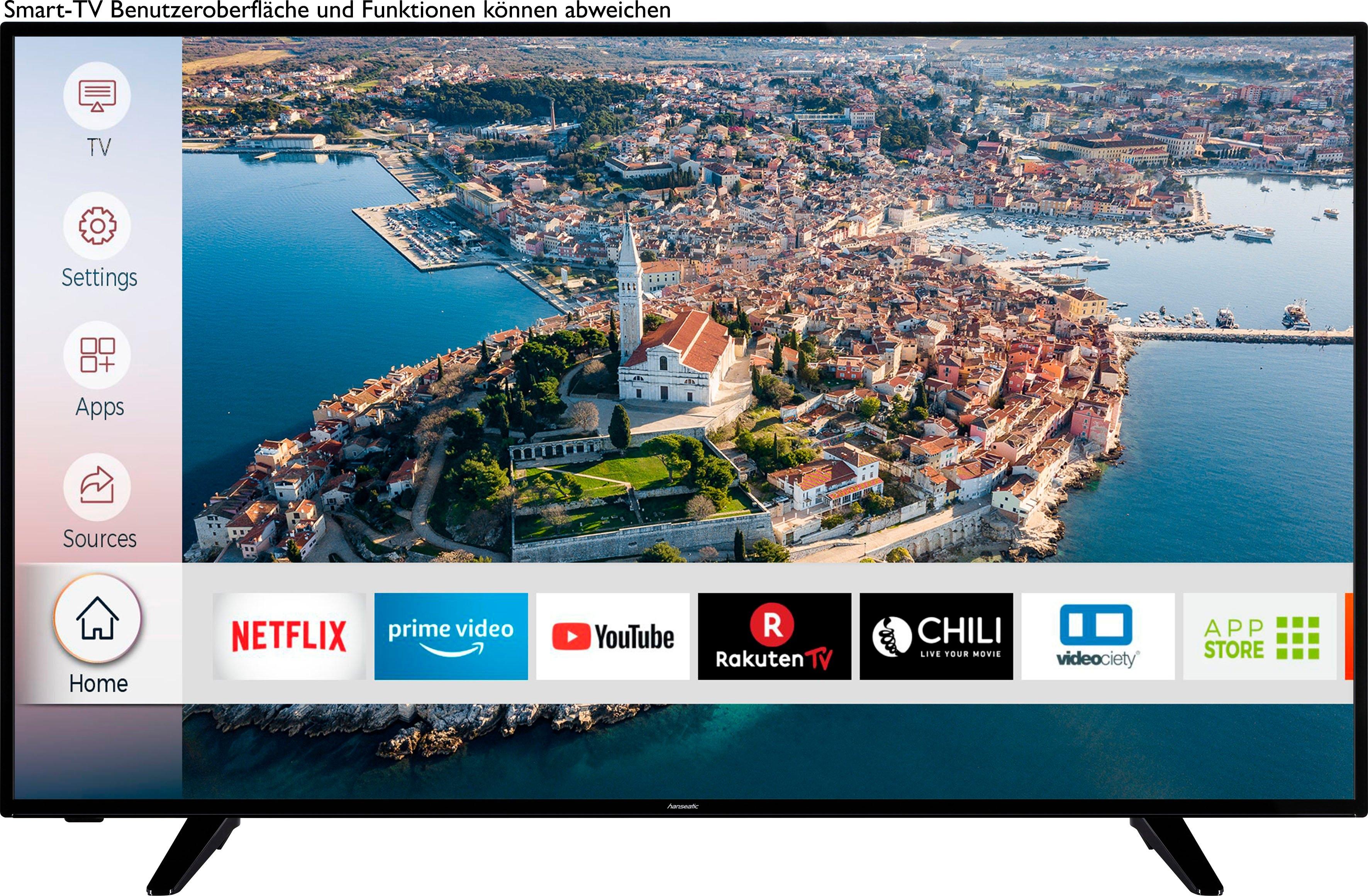 Hanseatic »58H600UDS« LED-TV online kopen op otto.nl