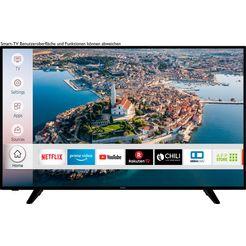 """hanseatic led-tv 58h600uds, 146 cm - 58 """", 4k ultra hd, smart-tv, hdr10 zwart"""