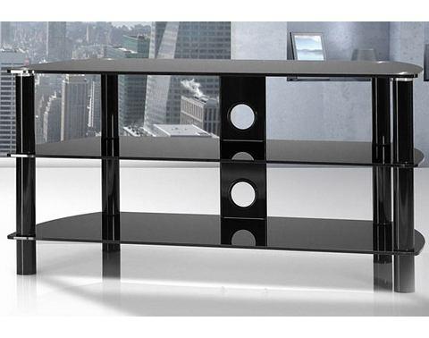 JUST-RACKS TV-meubel met glasplateaus