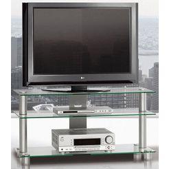 just by spectral tv-meubel just-racks tv1053 breedte 105 cm zilver