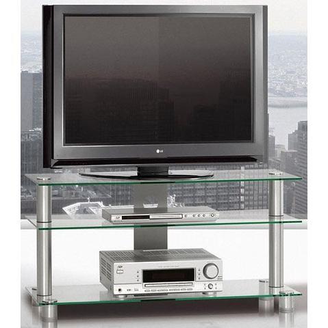 JUST-RACKS TV-meubel met veiligheidsglas