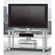 just-racks tv-meubel van 120 cm breed zilver
