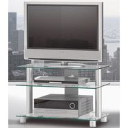 just by spectral tv-meubel just-racks tv-8553 breedte 85 cm zilver