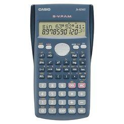 rekenmachine, casio, fx82ms zwart