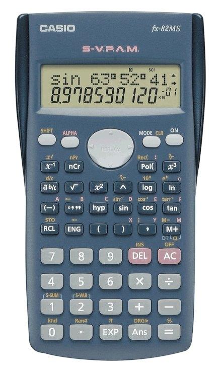 CASIO Rekenmachine, FX82MS nu online bestellen