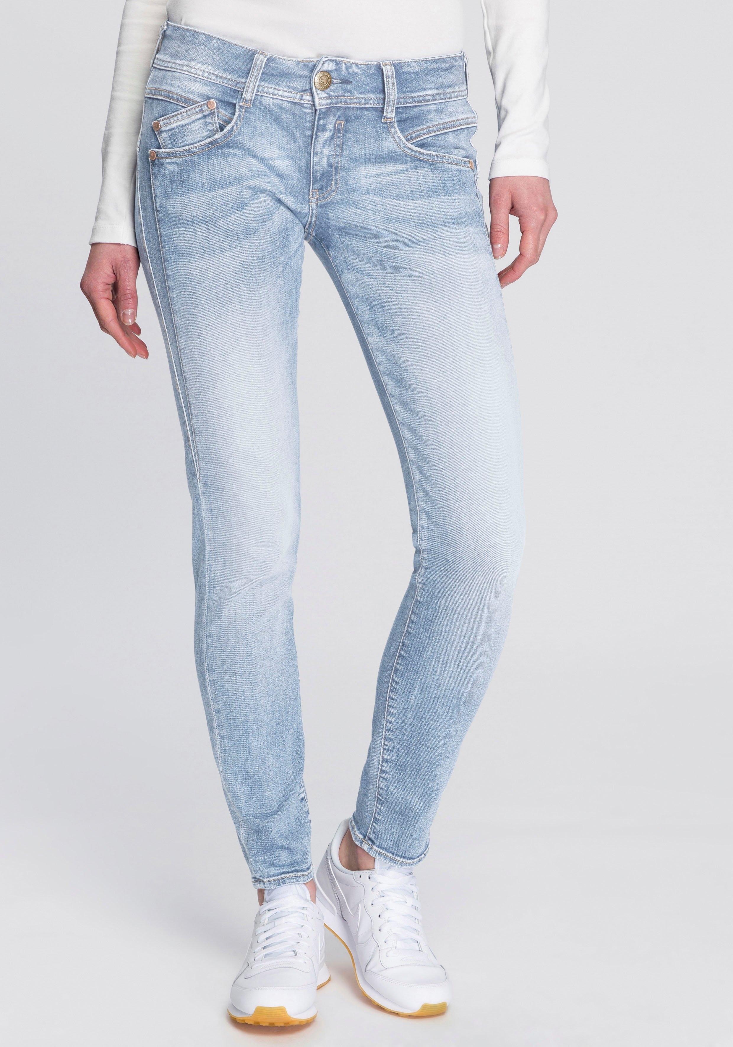 Herrlicher slim fit jeans GILA SLIM REUSED MS#014777 Herrlicher - verschillende betaalmethodes