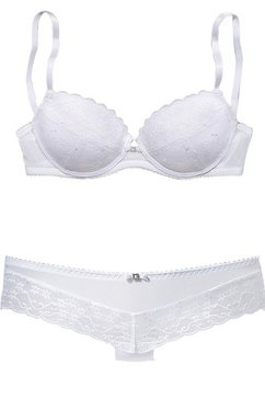 VIVANCE Set van push-up-BH en hipster