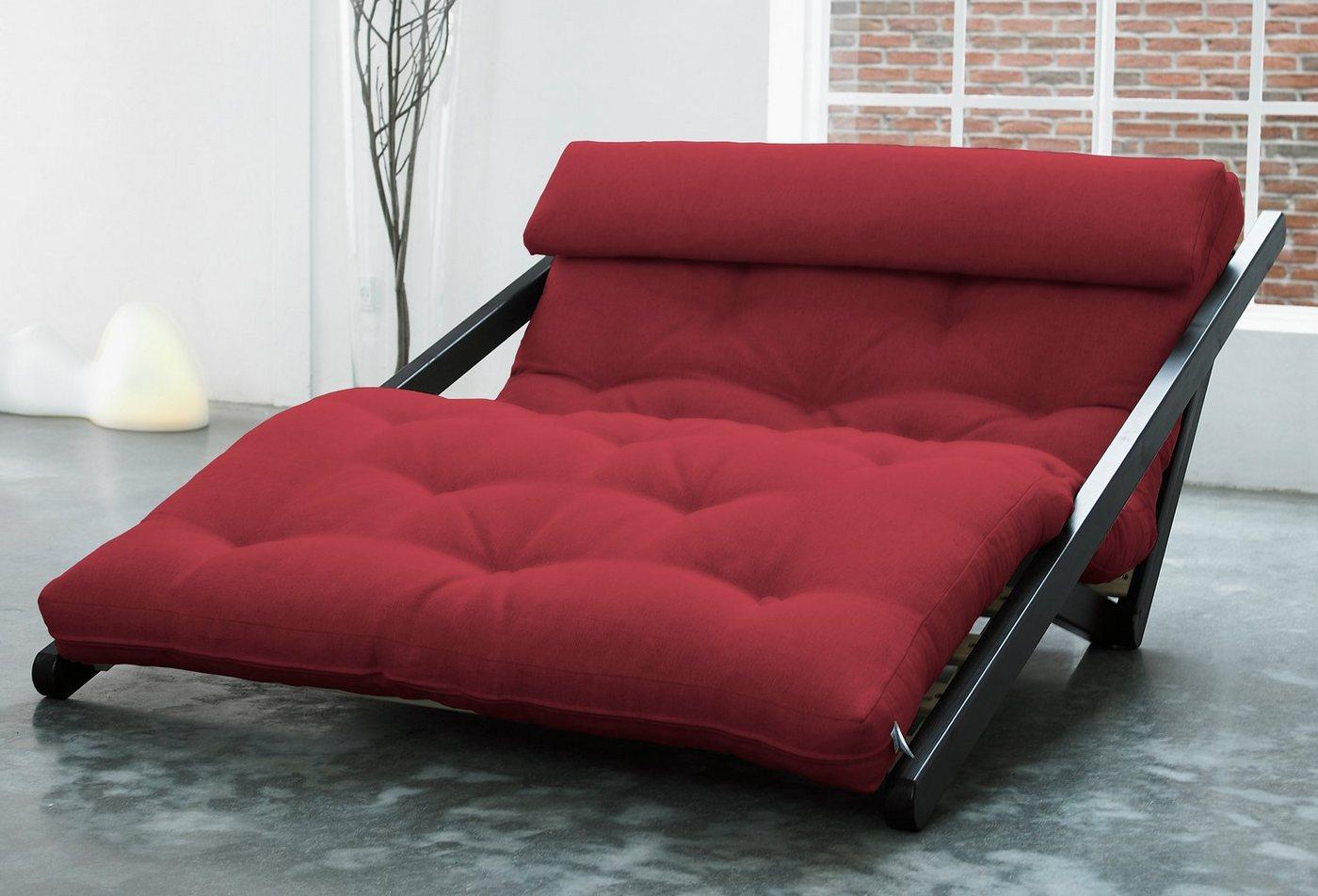 KARUP Ligstoel met futonmatras en nekkussen