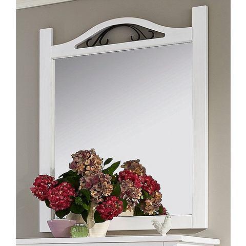 HOME AFFAIRE Spiegel met metalen siergarnering