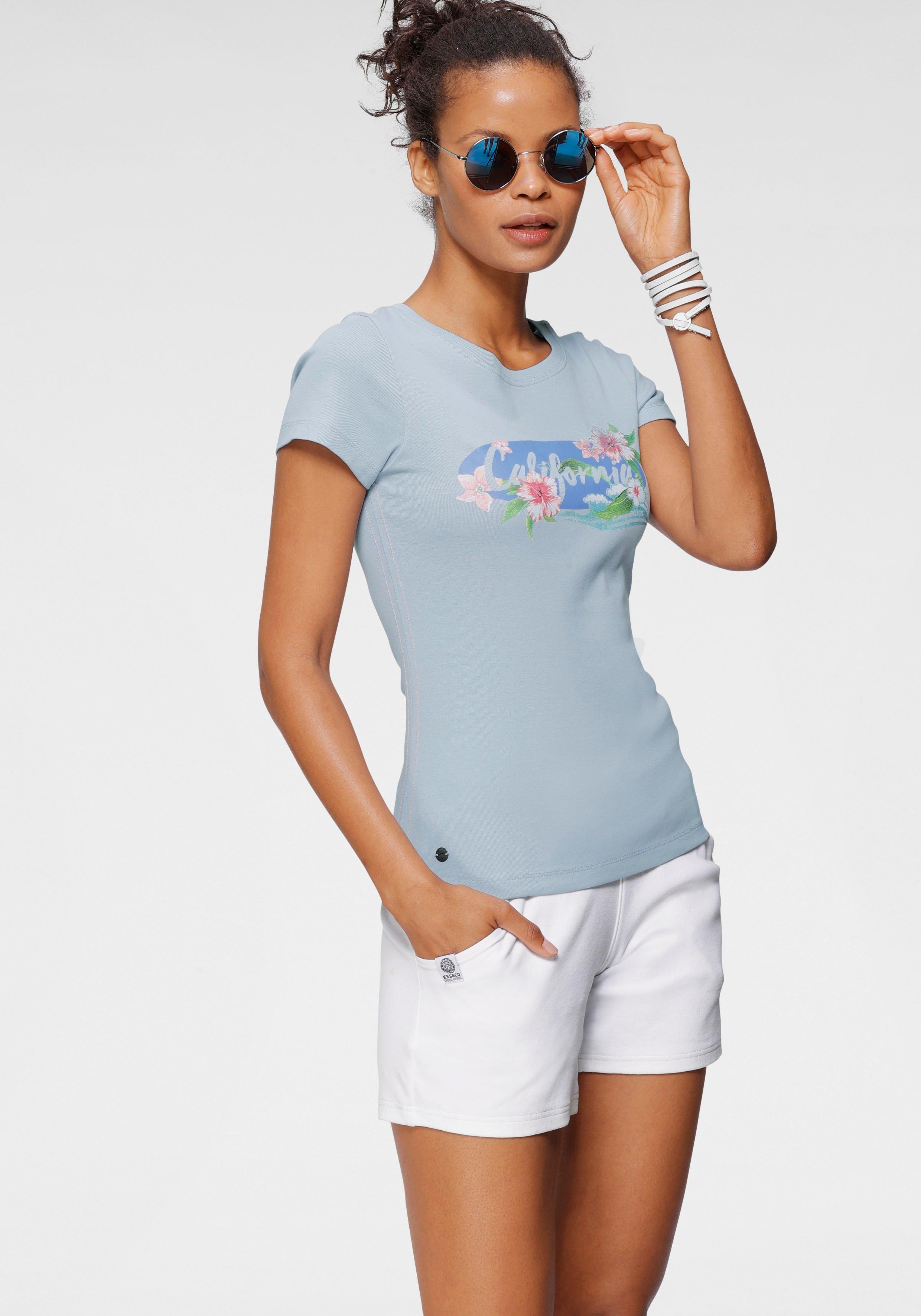 KangaROOS T-shirt met print in california-stijl voordelig en veilig online kopen