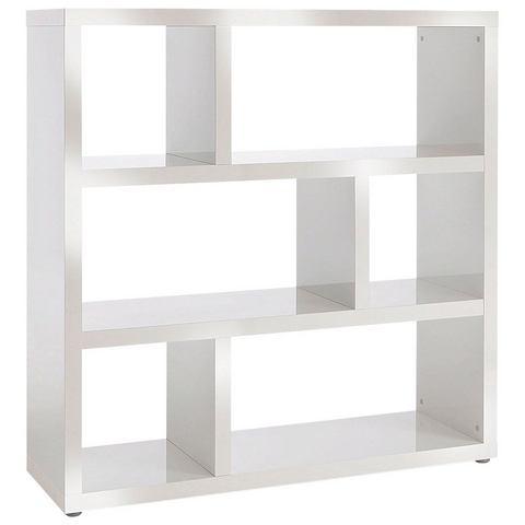 Kasten  vitrinekasten HMW MOBEL Open kast met 6 vakken 722639
