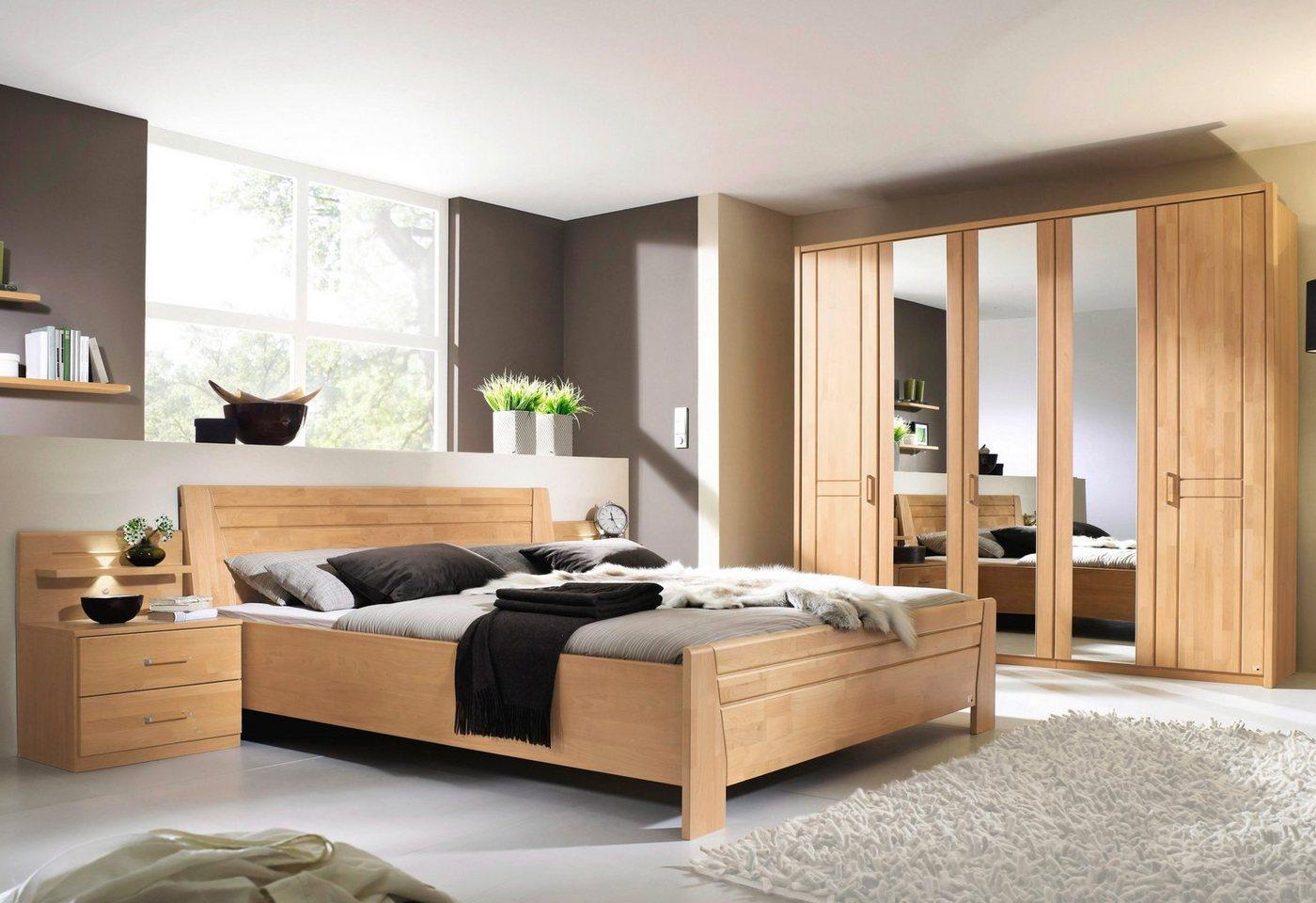 RAUCH Set slaapkamermeubelen 4-delig