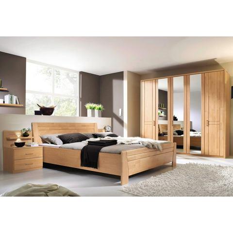 RAUCH Set slaapkamermeubelen 4 delig beige Rauch 749778