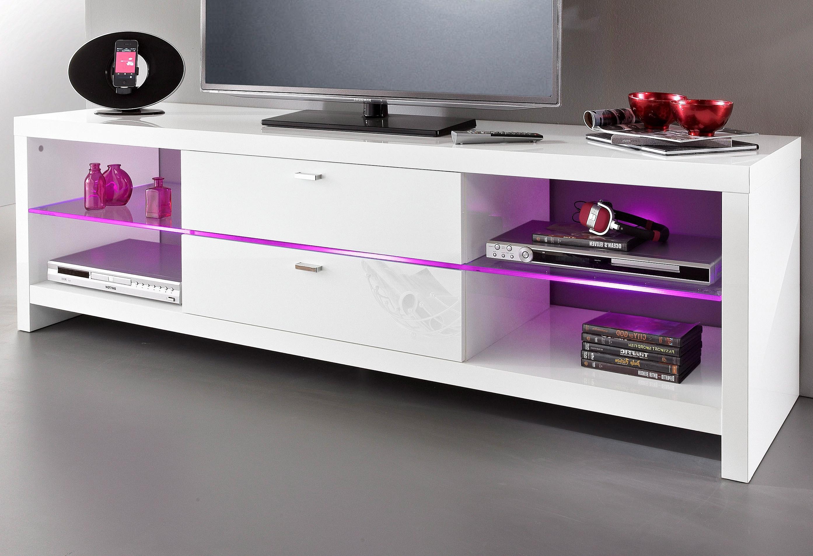 hmw mobel tv meubel in hoogglans look online shoppen otto. Black Bedroom Furniture Sets. Home Design Ideas