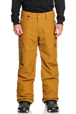 quiksilver snowboardbroek »porter« oranje