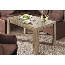 tafel uittrekbaar bruin