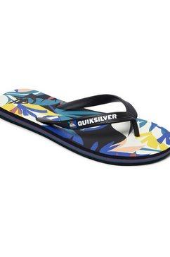 quiksilver sandalen »molokai tropical flow« zwart