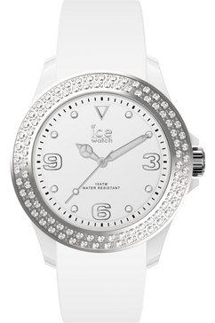 ice-watch kwartshorloge »ice star, 17230« wit
