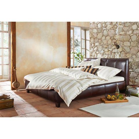 HOME AFFAIRE Bed met bekleding van imitatieleer