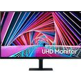 "samsung lcd-monitor s32a706nwu, 80 cm - 32 "" zwart"
