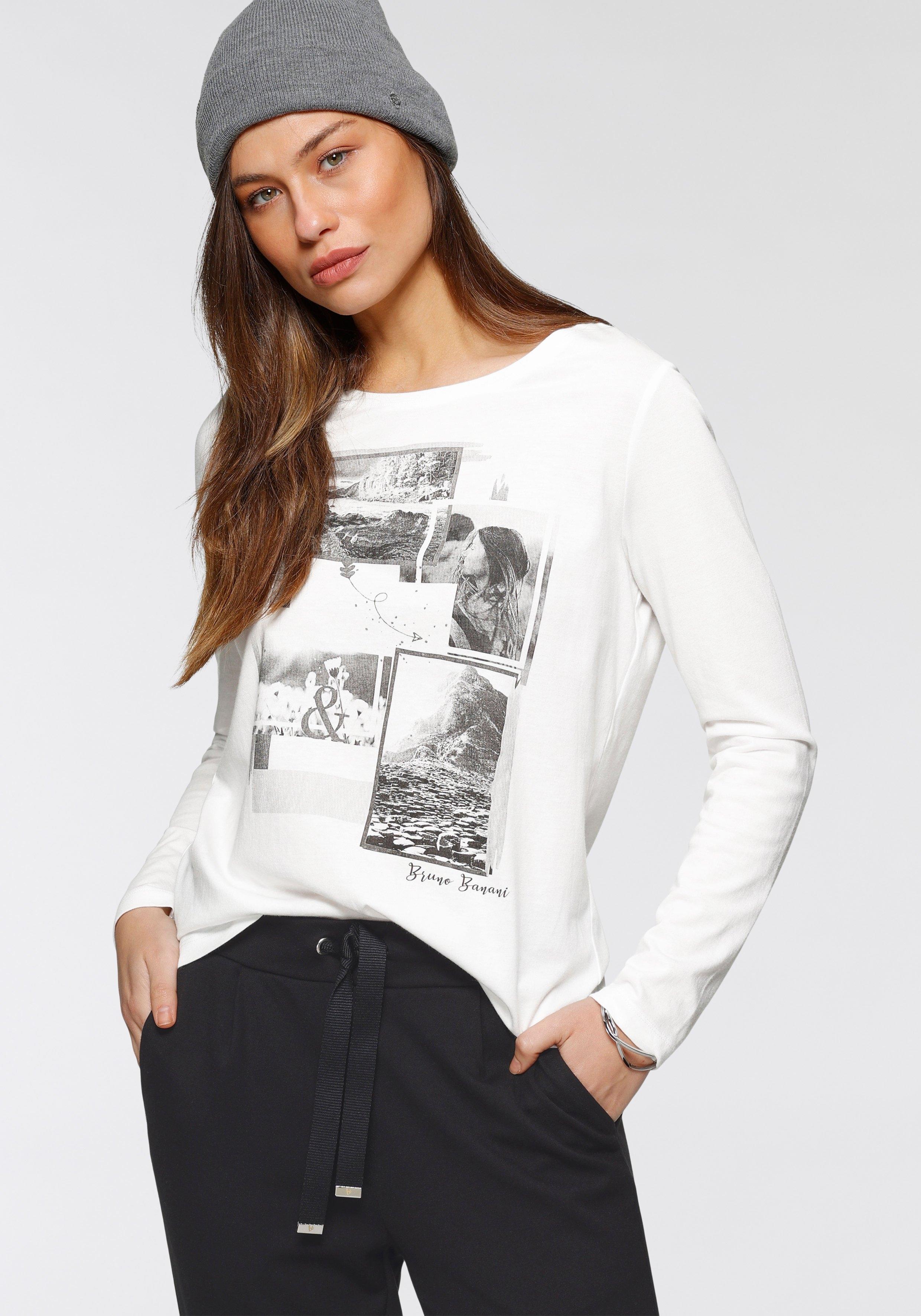 Bruno Banani shirt met lange mouwen nu online kopen bij OTTO