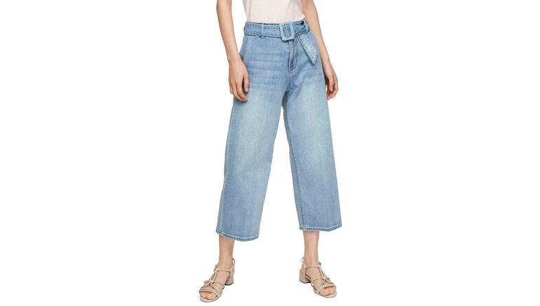 s.Oliver 3/4 jeans (2-delig, met riem)
